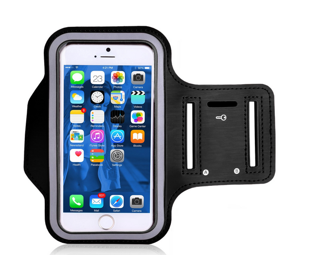 Sports Gym Cycling Running Jogging Durable Reflective Armband Case Cover Workout Armband Holders for iPhone and for Samsung