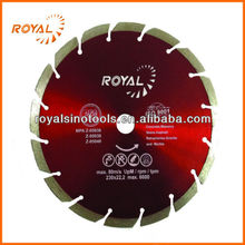 Fast Cutting Diamond Inclined Segment Concrete Saw Blade