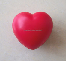 PU red heart shape stress reliever stress ball