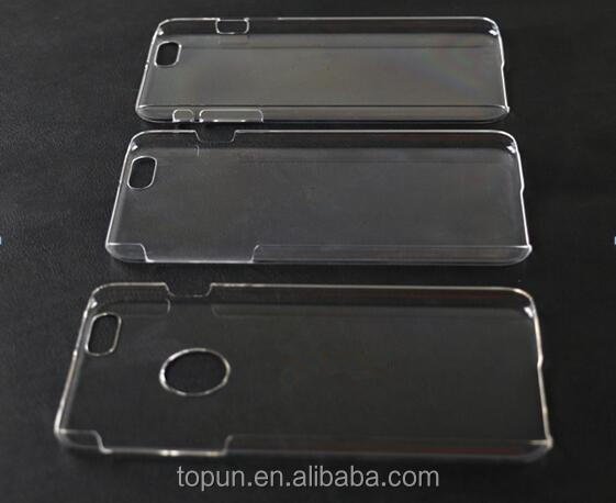 Clear PC Mobile Phone case for apple