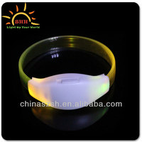 LED Wristband For World Cup 2014, LED Light Up Bracelet, factory in Shenzhen