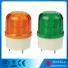 12V amber and red led forklift safety strobe warning beacon lighting, construction flashing emergency light