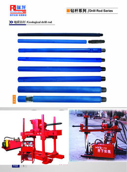 China professional drill manufacturer of Spiral drill pipes ruilong drill/Mining Drill Rod API/coal mining