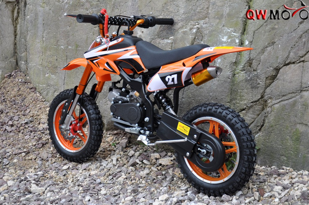 kids dirt bike 50cc 2 strokes gas powered mini dirt bike mini moto pocket bike for sale qwmoto. Black Bedroom Furniture Sets. Home Design Ideas