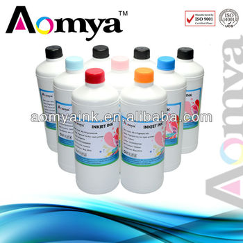 Vivid color water based pigment ink for Epson/Canon/HP printer