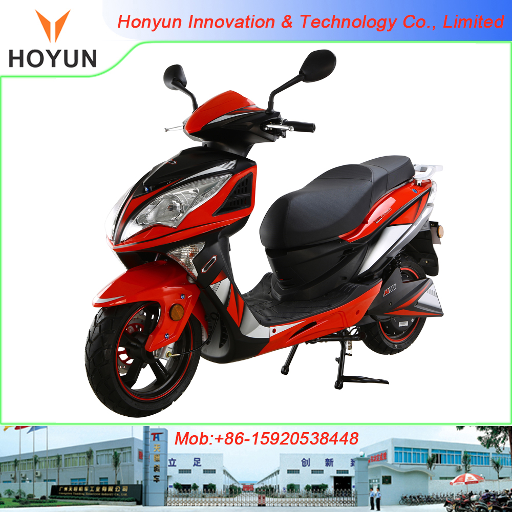2016 new design lead-acid battery EEC approved HOYUN EAGLE UNICO AGUILA Dragon 8 electric scooter