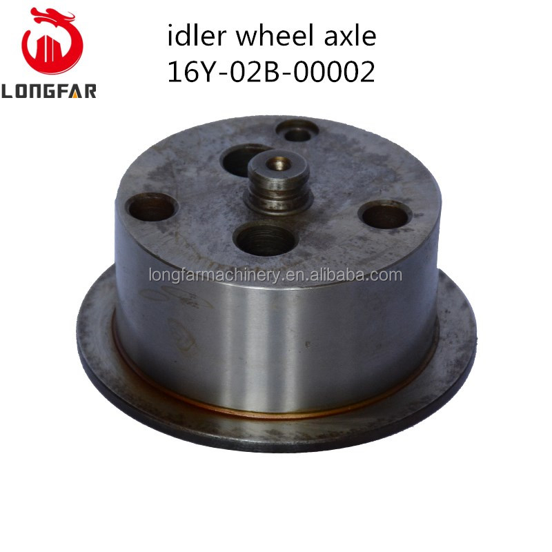original shantui SD16 16Y-02B-00002 Idler wheel axle /idler shaft for flywheel housing ass'y