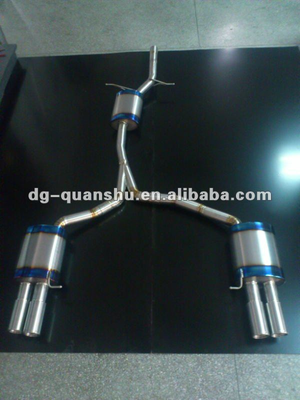 exhaust for A5 2.0T catback (two door)