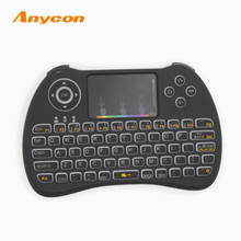 best selling 2.4G wireless air mouse keyboard, cheap Sleek laser used computer keyboards, Mouse function infrared keyboard