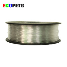 high clearity strong 3mm 1.75mm petg filament for 3d printer