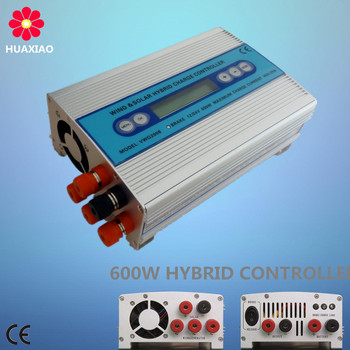 Hybrid 24v 48v 40a mppt wind solar charge controller with inverter system