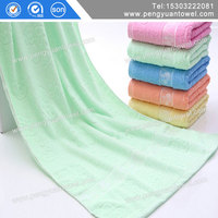 high quality cheap 100 cotton white and pink striped bath towel for sale