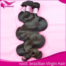 Brazilian extension hair Wholesale 6A quality 100% brazilian princess hair products