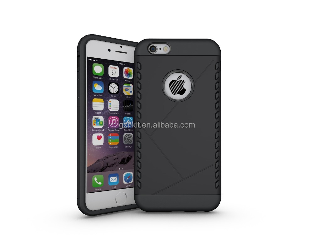 amazon hot sale for iphone 6 case with durable corner protect , bumper ,shock absorbing TPU+PC accessories cover
