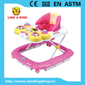 2016 new model baby walker with lovely toy and music and light Hot sale baby walker