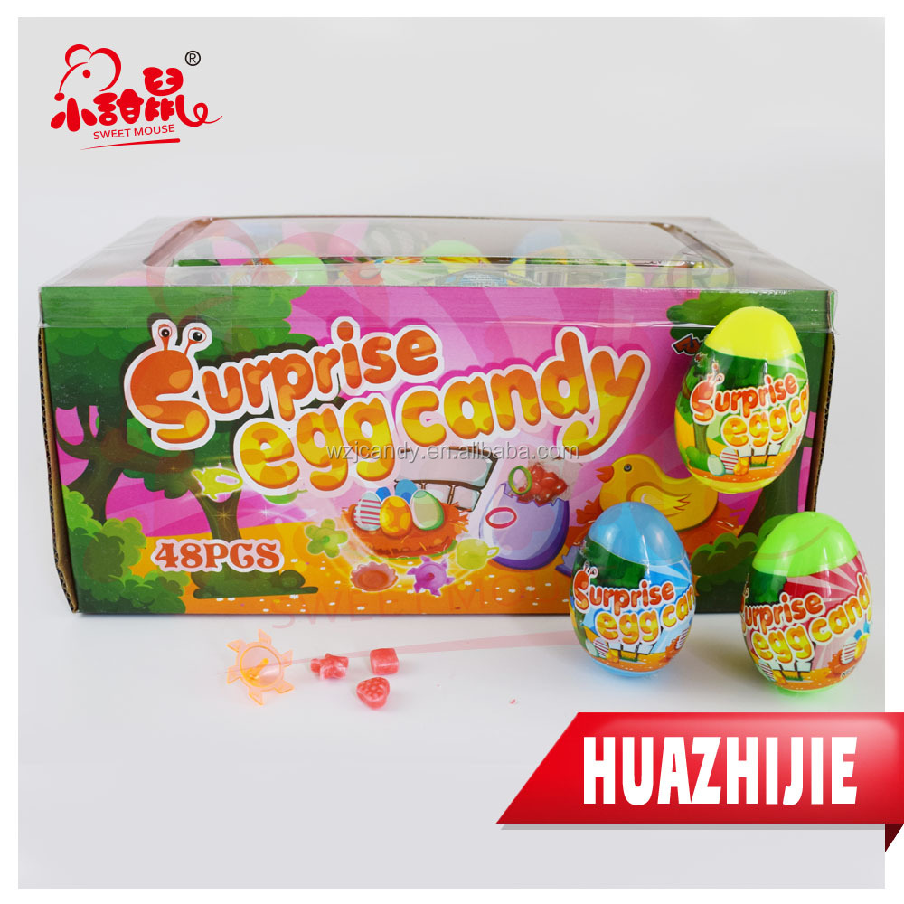 594201610Surprise Egg Shape Sweets Candy Toys For Kids
