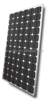 mono solar panel good quality and high efficiecy mono solar panel with ISO TUV GSG IEC CE CEC in China