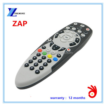 zap satellite remote control for Angola market 48keys black and white big IPTV MITSUBISHI air conditioner remote controller LCD