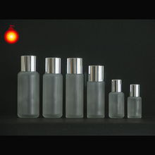 30ml~200ml frosted glass bottle lotion bottles frosted glass bottle factory