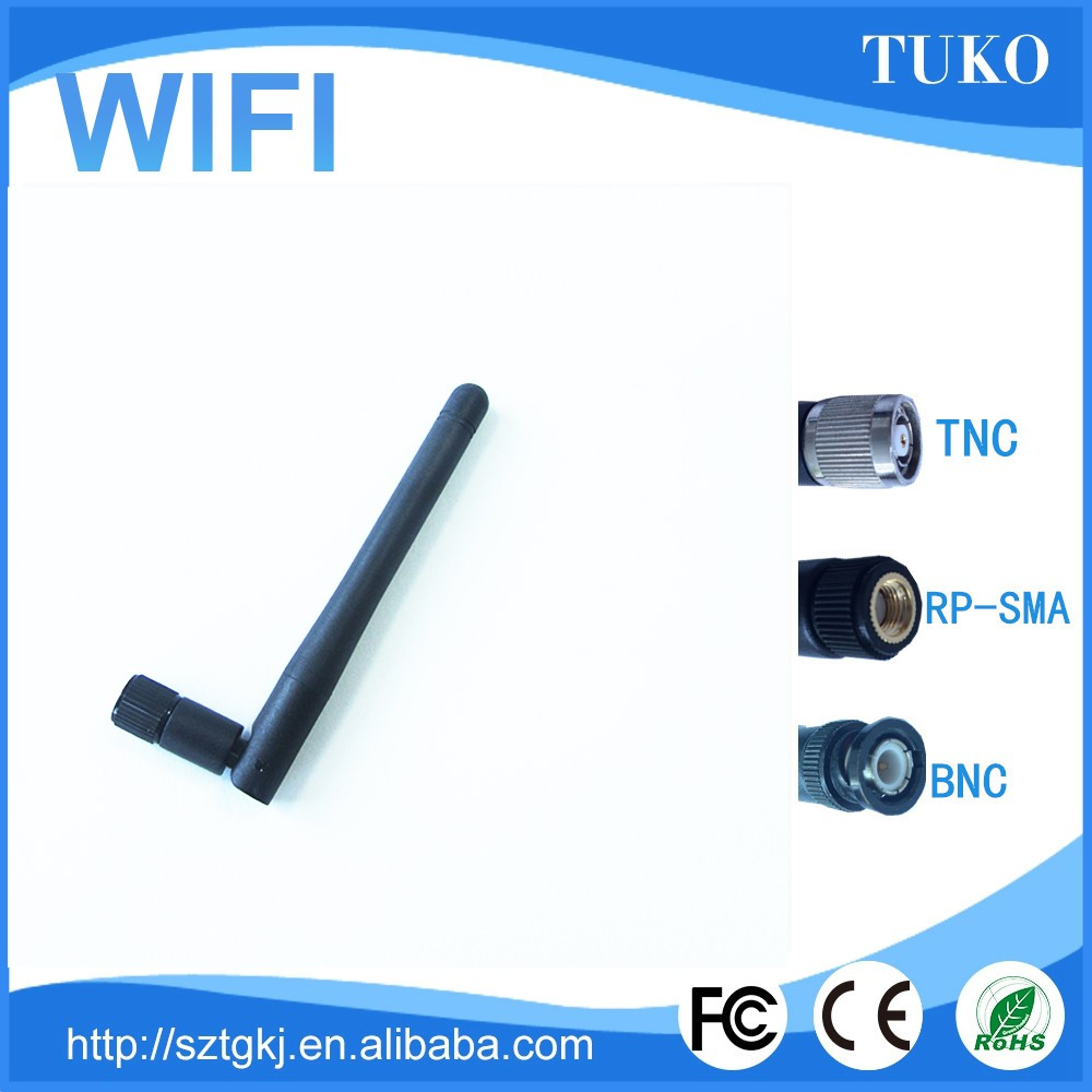 Frequency Range wifi outdoor 5g rubber antenna