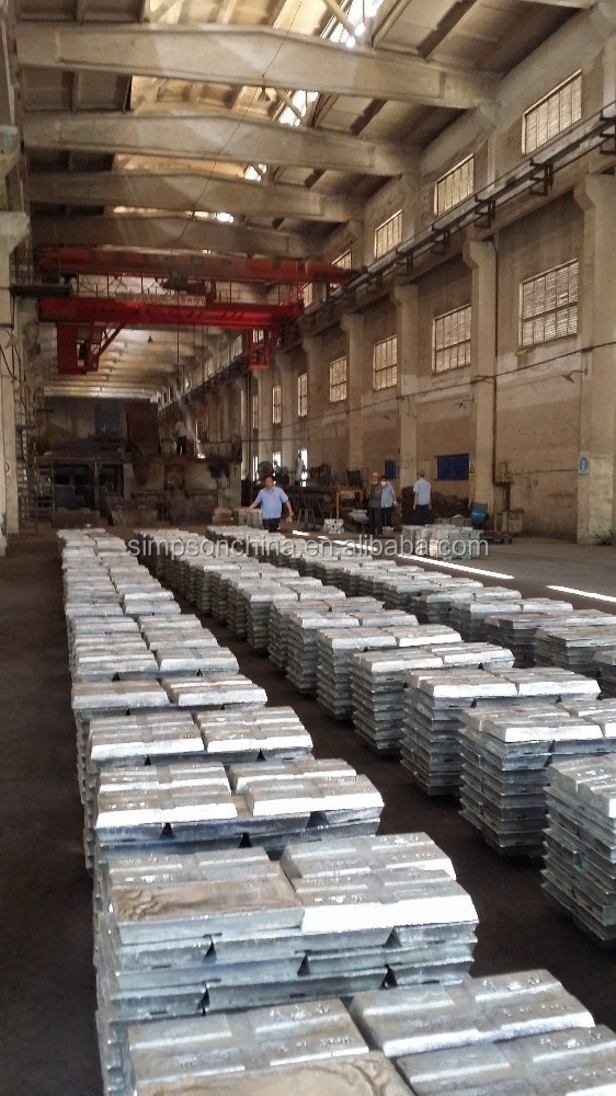 zinc ingot and zinc alloy hydrometallurgy process of making alloy
