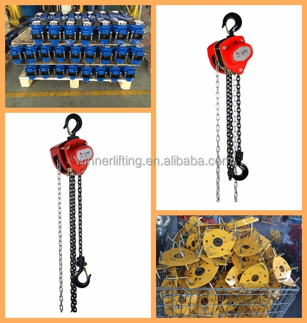 Manual 3 Ton Chain Block,3T Chain Pulley Block