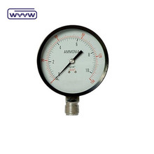 air ammonia pressure meter/gauge/manometer/indicator