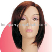 colorful nature cheap old fashion lady wig,daily use fashion style wig