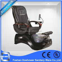 glass basin synthetic leather spa tech pedicure chair / electric chair type manicure and pedicure chair