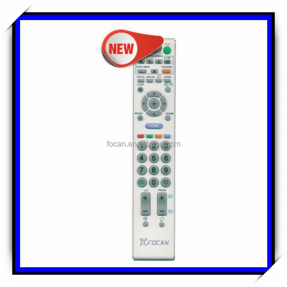 Factory Outlet LCD/LED/HDTV remote control for SONY & Wireless controller RM-D996A