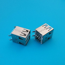 Fast shipping double port female usb connector