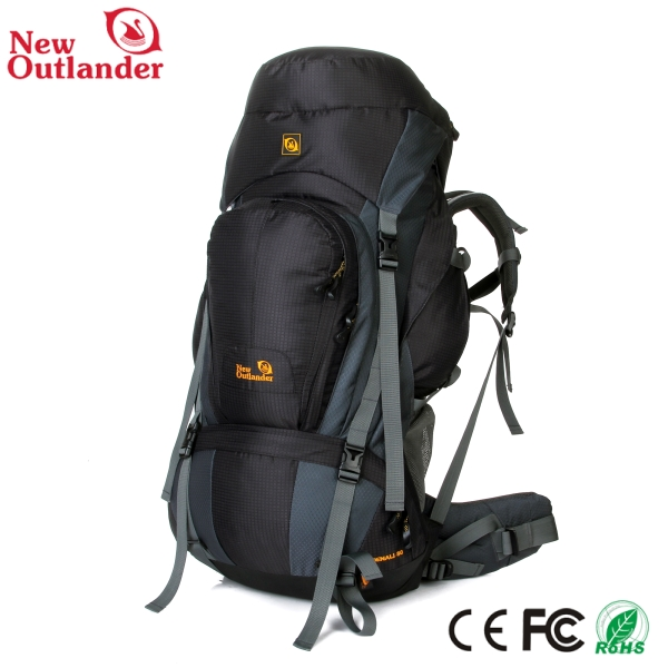 China wholesale 40L 60L 80L hiking and camping bag waterproof backpack rain cover