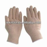 Nylon Gloves with 10G Natural White for sale