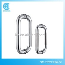 Stainless Steel glass door handle,pull and push handle