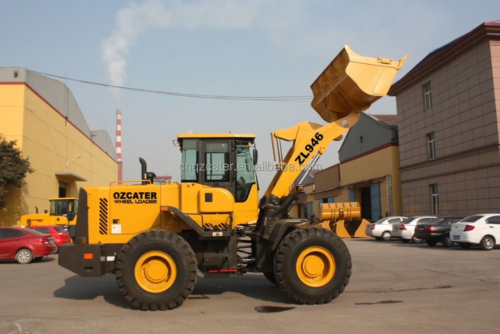 ZL40F China mini wheel loader with snow blower