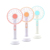 Hot Selling Summer Cooling Flavor Personal Rechargeable Portable Handheld Mini Fan with Led Light