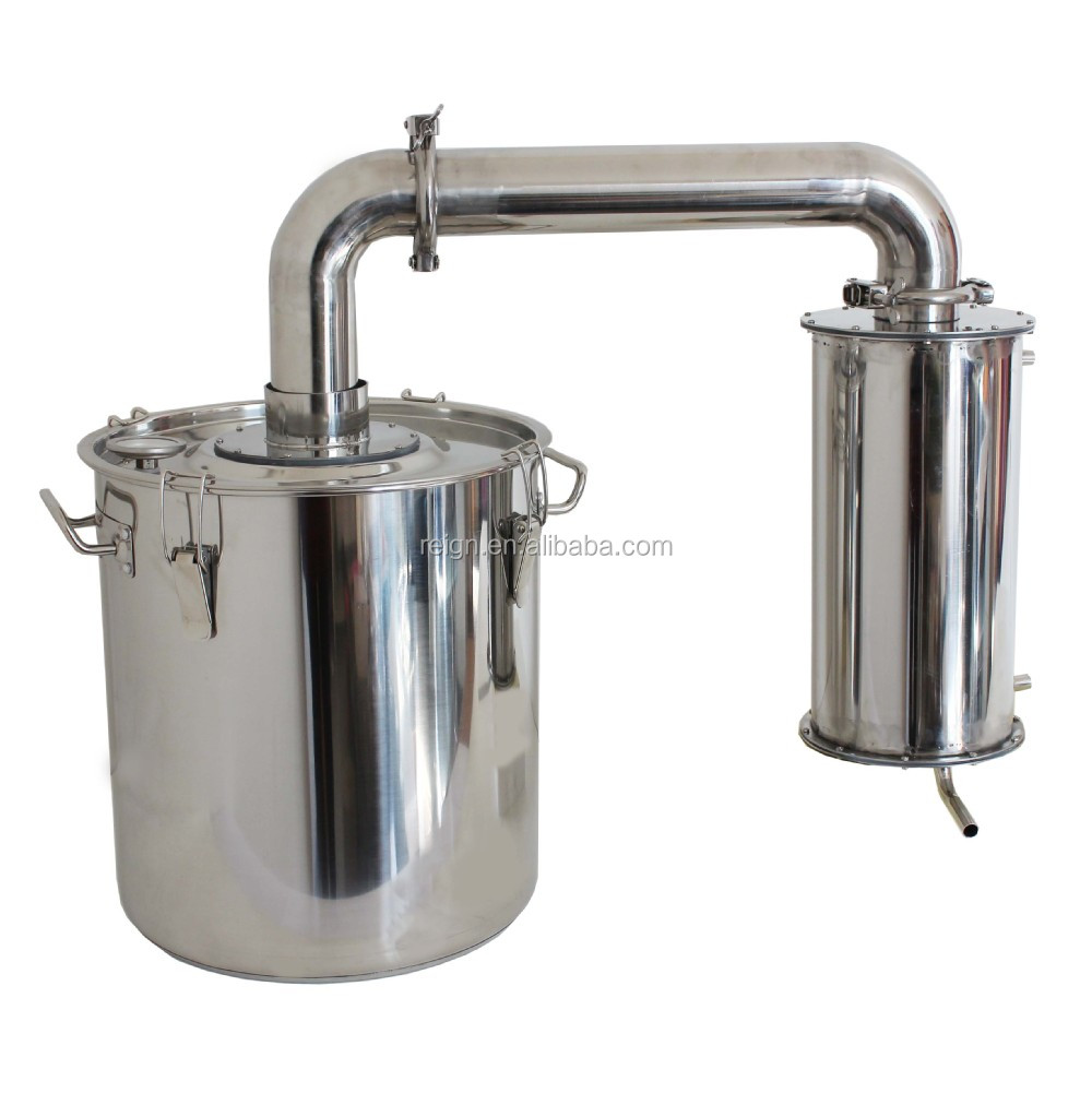 Water Distillation Systems Model ~ Large capa l household stainless steel water seal