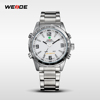 WEIDE Men Quartz Dual Time Sports Watches Military Wristwatches eyewear jewelry watch mens oem watches multifunction movement