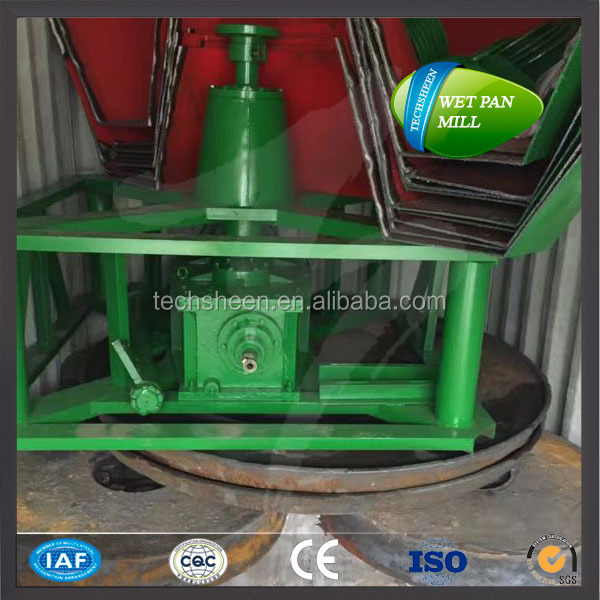 1200a wet pan mill / stone grinding machine gold ore mining mills