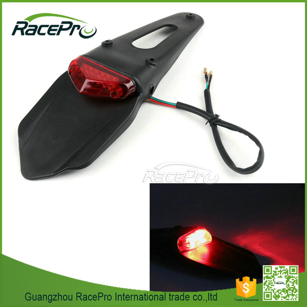 Universal Dirt Bike Off-Road Motorcycle LED Rear Fender Eliminator Tail Light