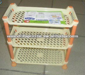 plastic layers storage rack