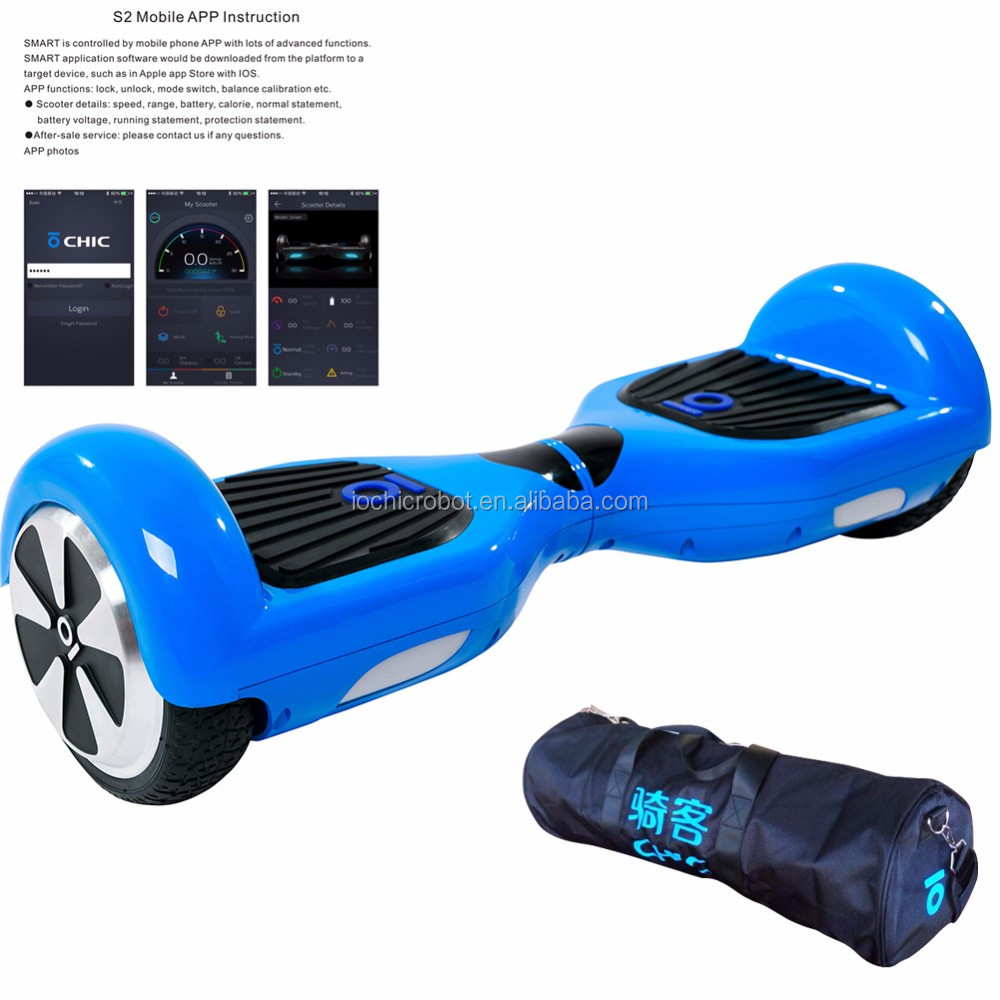 IO Chic Smart Self-balance Scooter Hoverboard IO Electric Wheel Motors For Sale