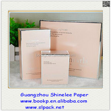custom high quality beauty cosmetic cosmetic paper box/cosmetic box makeup kit