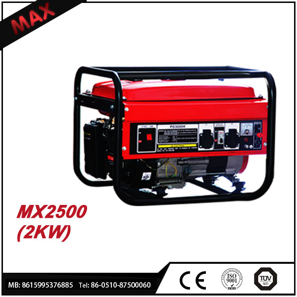 2KW 5.5HP Continuous Running Electric Generator Made In China