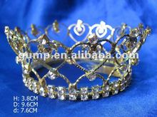 pageant large tiara crown(GWST12-164)