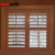 Louvered Vinyl Window Shutter Supplier