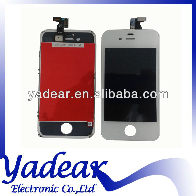 Top quality mobile phone lcd for iphone 4/4s touch