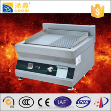 Hot selling healthy bbq grill/induction griddle,industrial big power induction griddle