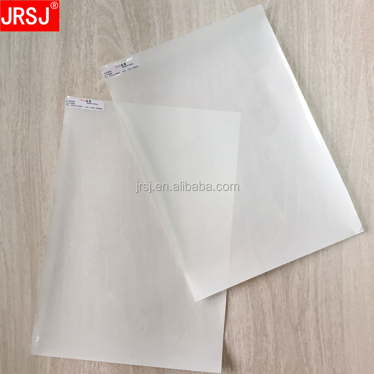 2018 new products 0.10mm thick hardness good adhesion transparent hot melt TPU thin film for clothing and shoes