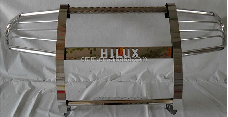 Stainless steel Nudge bar for Hilux